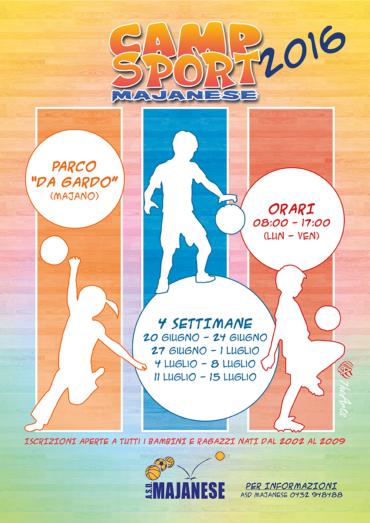 Camp sport Majanese 2016