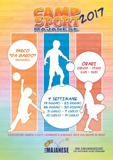 Camp Sport Majanese 2017